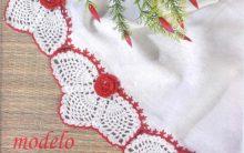 Barrado Elegante Em Crochê – Material e Como Fazer