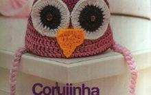 Touca Corujinha da Sorte Crochê – Material e Receita
