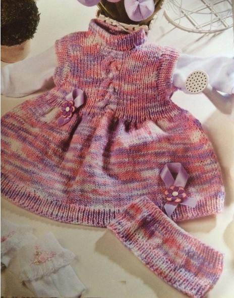 vestido-rosa-mescla-em-croche-material-e-como-fazer
