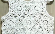Cropped Regata em Crochê- Material e Passo a Passo