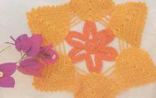 Toalhinha Mimo Das Estrelas Crochê – Material e Como Fazer