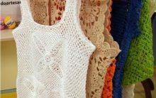 Regata Em Crochê – Material e Como Fazer