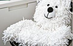 Cadeira Infantil Urso Polar Em Crochê – Material e Como Fazer