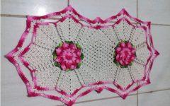 Jogo de Banheiro Flor Jade Crochê – Material e Como Fazer