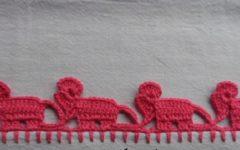 Barrado Em Crochê Elefante – Material e Vídeo