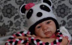 Touca Ursinho Panda Em Crochê – Material e Vídeo