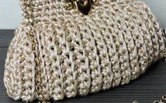 Bolsa Clutch Em Crochê – Material e Como Fazer