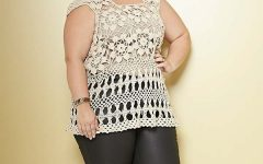 Blusa Bege Plus Size Crochê – Materiais e Receita