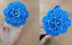 Flor de Fuxico de Três Camadas – Material e Vídeo