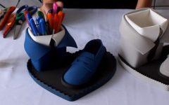 Lembrancinha Sapato Em EVA – Material e Vídeo