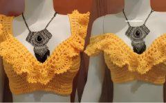 Blusa Cropped Ciganinha Crochê – Material e Vídeo
