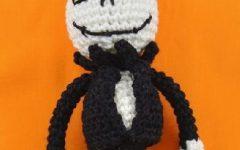 Boneco Jack Esqueleto Em Crochê – Material e Receita