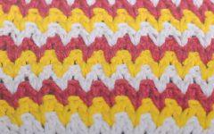 Ponto Degrade Em Crochê – Material e Vídeo