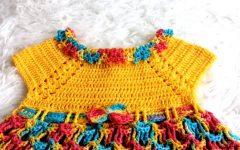 Vestidinho Primavera Em Crochê – Material e Vídeo
