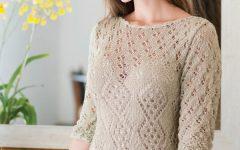 Vestido Hobby Bege Tricô – Material e Receita