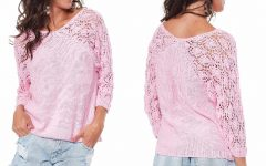 Blusa Rosa de Tricô – Material e Receita
