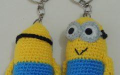 Chaveiro Mini Minion Em Crochê – Material e Vídeo