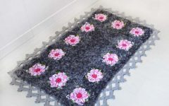 Tapete Flor Margarida Bicuda Crochê – Material e Receita