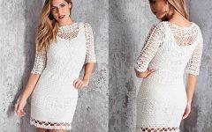 Vestido Estilo de Crochê – Material e Receita