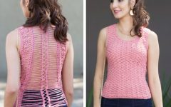 Blusa Costas Rendadas Crochê – Material e Receita