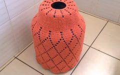 Capa Botijão de Gás Outono Em Crochê – Material e Vídeo