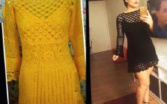 Vestido Encanto Em Crochê– Material e Vídeo