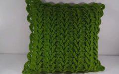 Almofada Ponto Trançado Crochê – Material e Vídeo