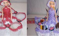 Barbie Porta Bombons de Crochê – Material e Vídeo