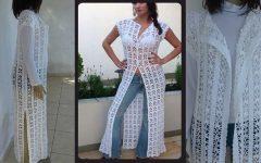 Max Colete Fashion Crochê – Material e Vídeo