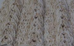 Ponto Trança Embutida Crochê – Material e Vídeo