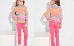 Suéter Infantil Ciranda Em Tricô – Material e Receita