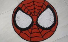 Tapete Infantil Homem Aranha Em Crochê – Material e Vídeo