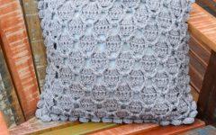 Almofada Cromada Em Crochê – Material e Receita