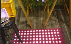 Tapete Xadrez Em Crochê – Material e Receita