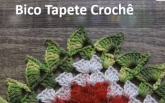 Bico de Tapete Crochê – Material e Vídeo